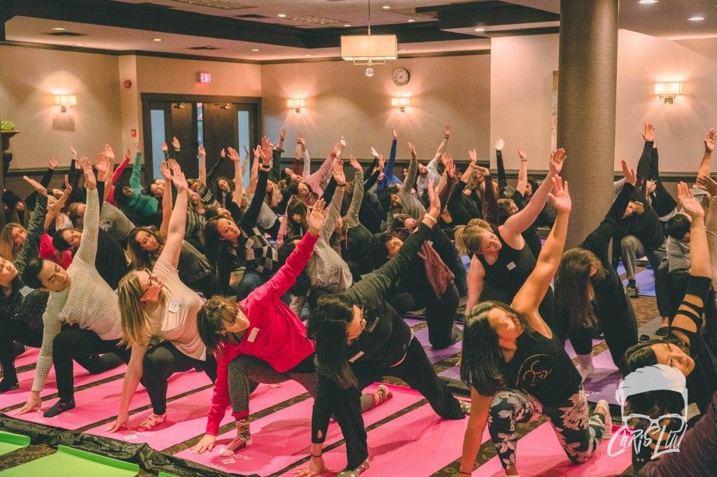 TREC Staff Yoga